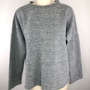 ZARA grey long sleeve cozy comfy sweatshirt Small